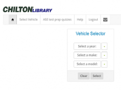 Chilton Library screenshot