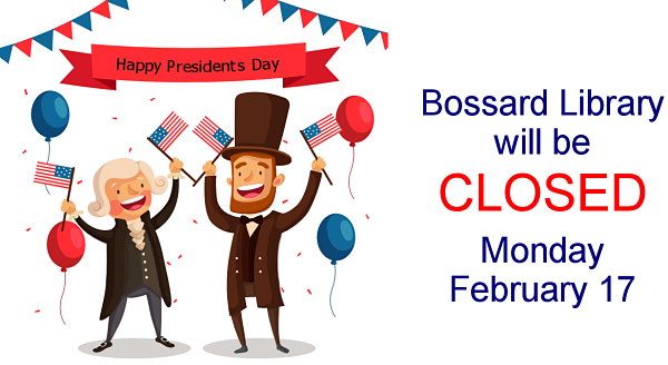 Closed Presidents' Day